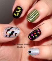 nail art hunger games