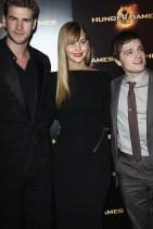 Paris Premiere: Liam, Jennifer & Josh