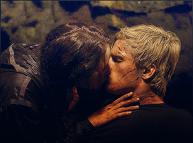 Movie Still: Katniss & Peeta Kiss
