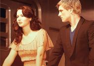 Movie Still: Katniss and Peeta in Capitol