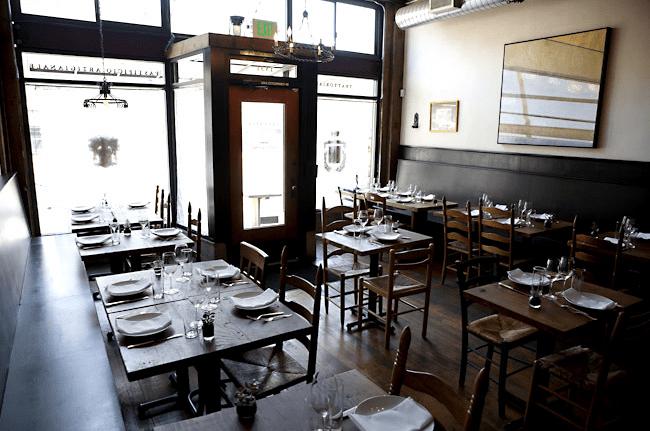 Cascina Spinasse Dining Room