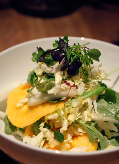 heong soon park persimmon salad