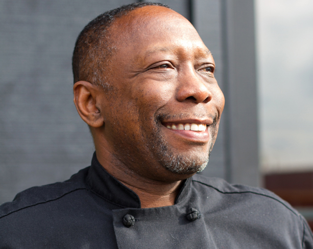 Wayne Johnson of FareStart and Shuga Jazz Bistro