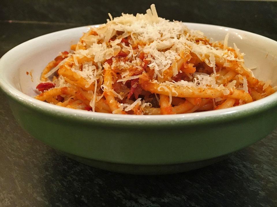 Bucatini all'Amatriciana Recipe