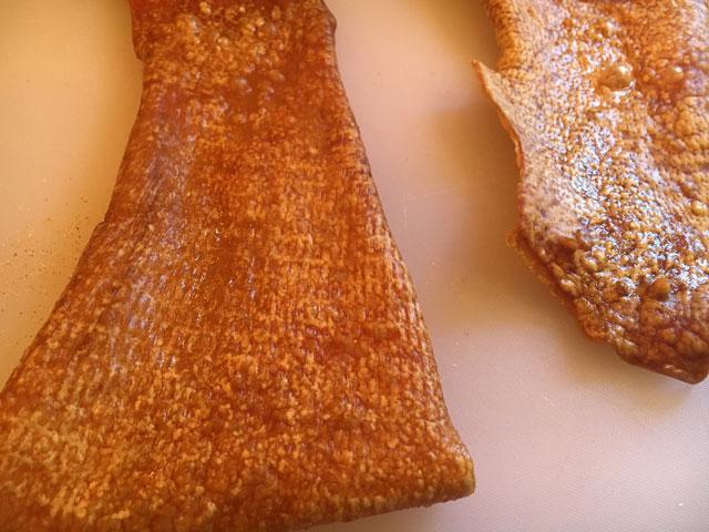 Ciccioli crispy pork skin