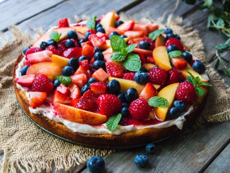 Fresh Fruit Tart -