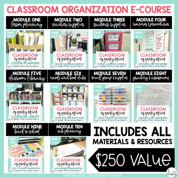 Classroom Organization in the Upper Grades- Part 2 of 5: Teacher and