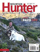 Hard Word Pays Off by Brett Marciasini - Mountain Hunter, Spring 2018