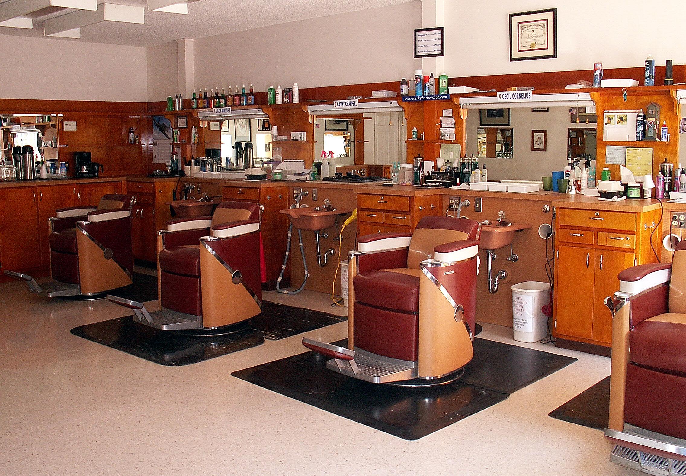 The Husky Barbershop Since 1970