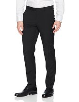 fit flat front stretch chino for men