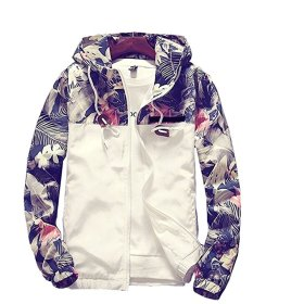 bomber hooded jacket