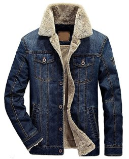 classic button front denim jacket
