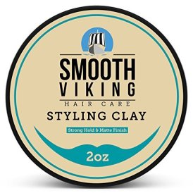 Smooth Viking's Hair Styling Clay for Men