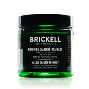 Brickell Men's Natural Purifying Charcoal Face Mask