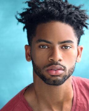male with natural hairstyle