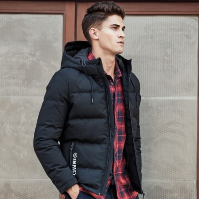 mens down jacket fashion trends winter