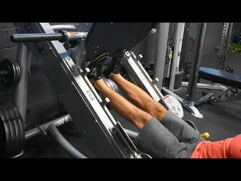leg press exercise for cutting body fat