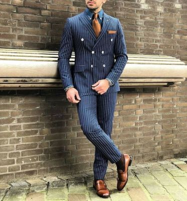 double breasted old style blazer fashion