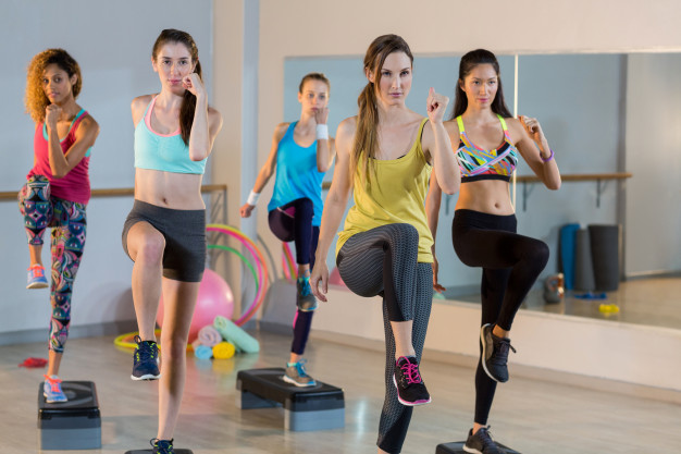 Aerobics workout for fat loss