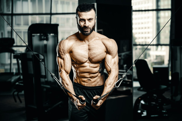cable cross over chest exercise