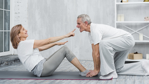 Full Body Home Workout Plan for People Over 50s Age