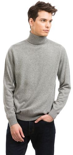 thin turtle neck sweater trends for men