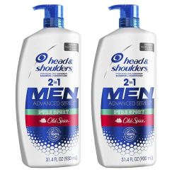 Head and Shoulders Shampoo and Conditioner for men's hair