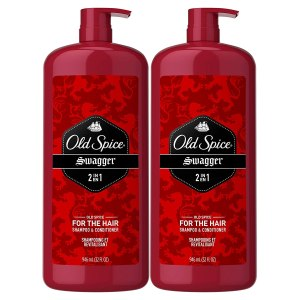 Old Spice, Shampoo and Conditioner 2 in 1, Swagger for Men hair growth