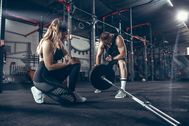 never give up fitness couple motivation weight loss maintain