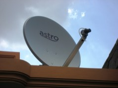 Astro satellite dish