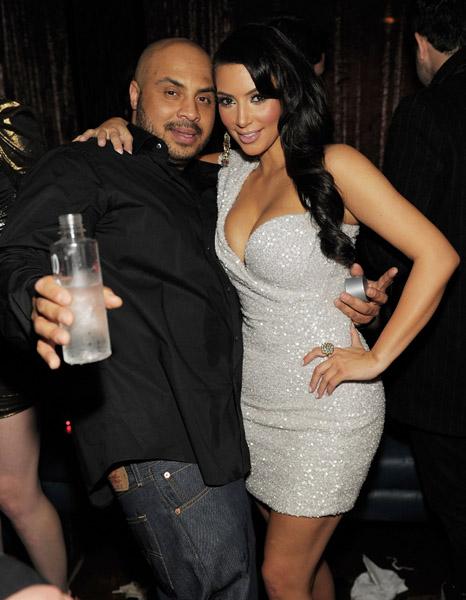 Hype Williams and Kim Kardashian