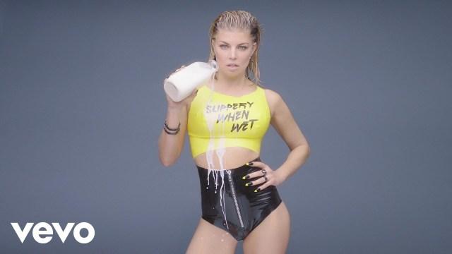 "Fergie in the ""Milf Money Video"""