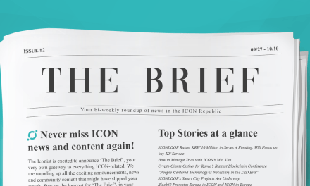 The Brief #2: ICONLOOP's focus on my-ID and more