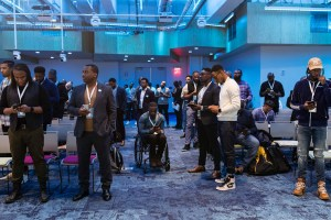 Black men at Icon Summit 2019