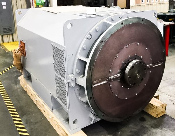 Ideal Horizontal Generator - Original Equipment for the Rolls-Royce 501-KB Industrial Gas Turbine