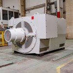 Ideal Electric ideal 4500 kw 4 pole synchronous generator 4160 v 5129