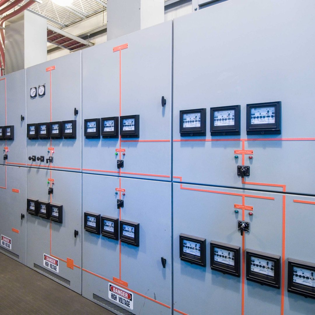 Ideal Electric ideal electric switchgear lineup for test floor