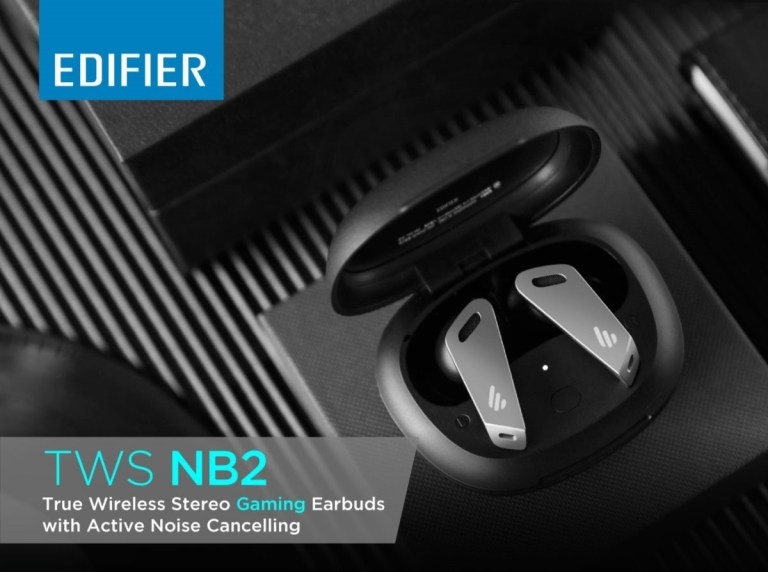 Edifier TWS NB2 – Hybrid Active Noise Cancellation Available for Pre-order Now!