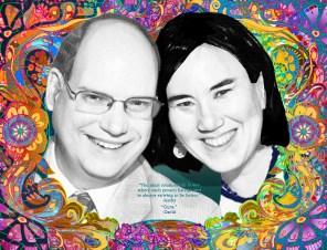 Kathy and David