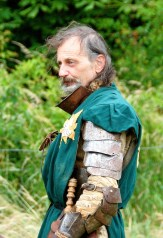 A grizzled veteran of the Battle of Tewkesbury