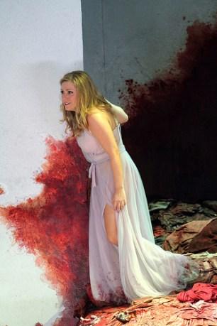 Ilia (Sophie Bevan): the innocent in the bloodbath