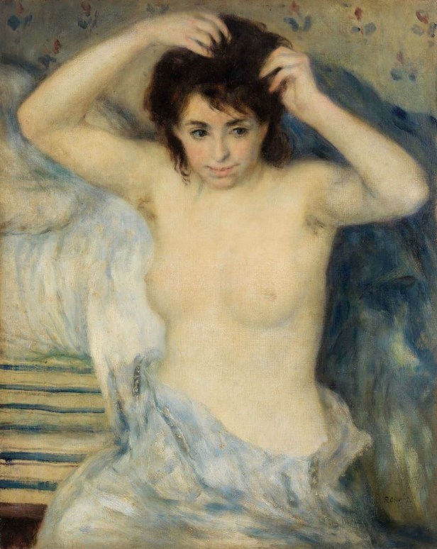 Pierre-Auguste Renoir, Avant le Bain, 1875, Barnes Foundation, Philadelphia