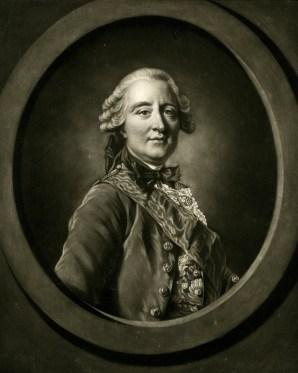 James Watson, after Louis-Michel Van Loo, Portrait of Claude Louis François de Regnier, Comte de Guerchy, 1766, mezzotint, British Museum, London