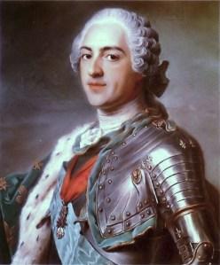 Maurice-Quentin de la Tour, Portrait of Louis XV, 1748
