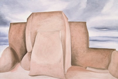 Georgia O'Keeffe, Ranchos Church, New Mexico, 1930-1931, Amon Carter Museum of American Art, Fort Worth, Texas © Georgia O'Keeffe