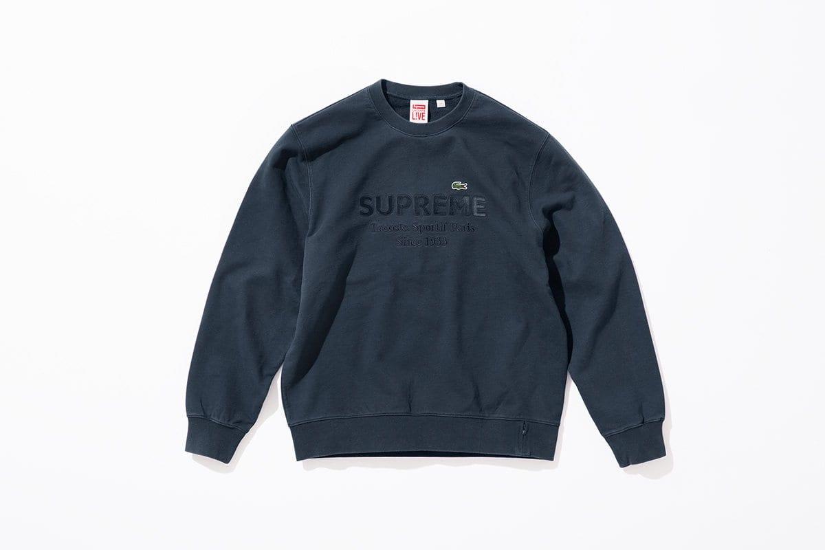 Oto nowa kolekcja Supreme x Lacoste Lato 2018