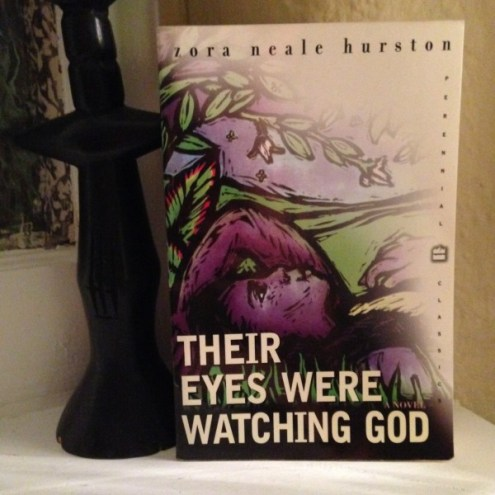 Their Eyes Were Watching God was my first introduction to Zora Neale Hurston's writings as a sophomore or junior in high school. Initially, I had sold my copy back to our school's bookstore, but in my adult years it was important to have this edition. They say never judge a book by it's cover, but this one was as colorful, imaginative, and rich as the language. Once I finished reading it I knew it was a story I would always go back to and learn from.