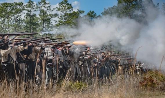 Battle of Olustee – 2017- Olustee Battlefield Historic State Park, Florida