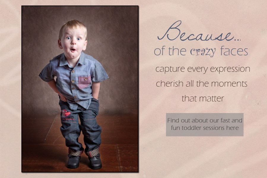 Fast and fun toddler photoshoots