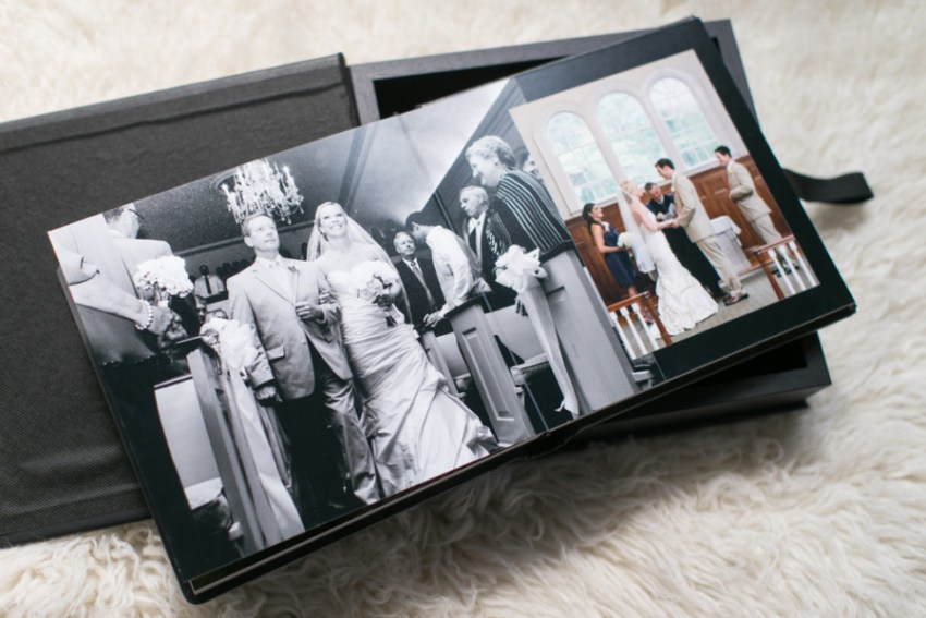 Professional Wedding Albums by MA wedding photographer Alice Pepplow